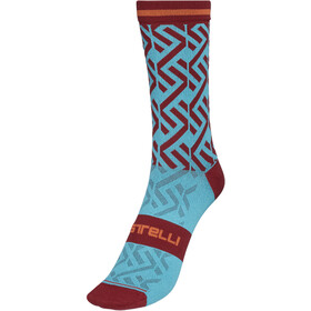 Castelli Tiramolla 15 Socks celeste